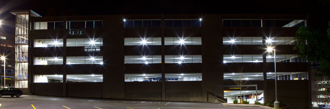 Parking Structure LED Lights